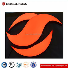 factory price LED luminous epoxy channel sign logo