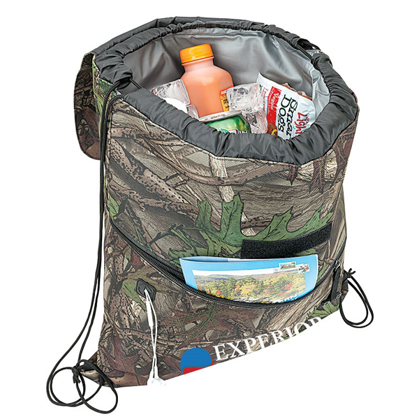 Camouflage drawstring Cooler Water-tight Cooler Bag