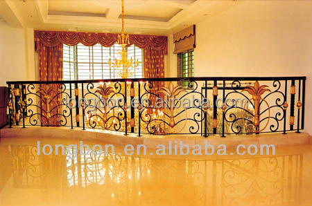 Top-selling wrought iron balcony railing parts
