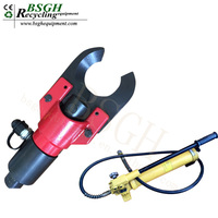 CC-50B Hydraulic Wire Cable Cutter Telephone Cable Cutting Tool Machine Cutting Cable