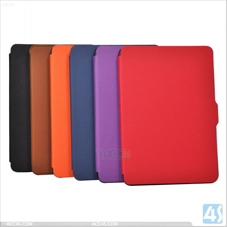 Ultrathin Series Leather Case Cover For Kindle Paperwhite