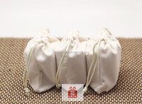 Fabric pen packaging bag velvet bag pouch for iphone 5 christmas drawstring gift bag