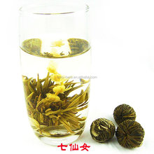 Free Sample Jasmine Flavored Flower Fairy Precious Blossom Blooming Tea