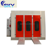 China supplier SB-200 Car paint baking oven/automobile paint booth/car spray baking booth
