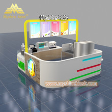 Mall Retail Fresh Juice Kiosk Bar Counter For Sale