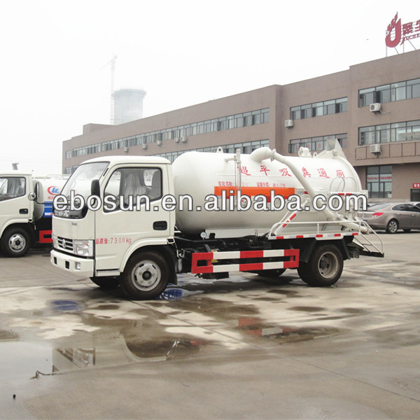 China truck supplier DFAC Truck mounted drain cleaner