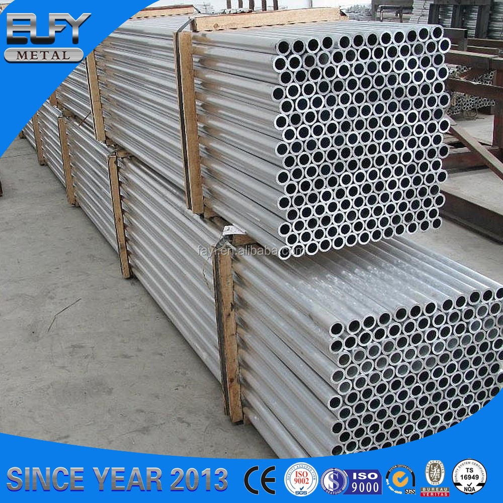 High Quality 6060 T6 Temper Round Aluminum Alloy Tube Profiles for building
