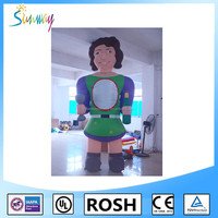 Sunway Commercial Gracious Inflatable Woman, Giant Inflatable Cartoon Character