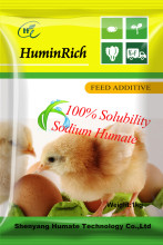 Huminrich Shenyang Suprior Advanced Tech Qucik-acting Effect Sodium Humate Chicken Feed Formula