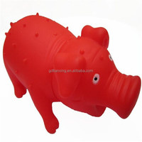Screaming pig design squeaky pet toy,wholesale special new design dog toys