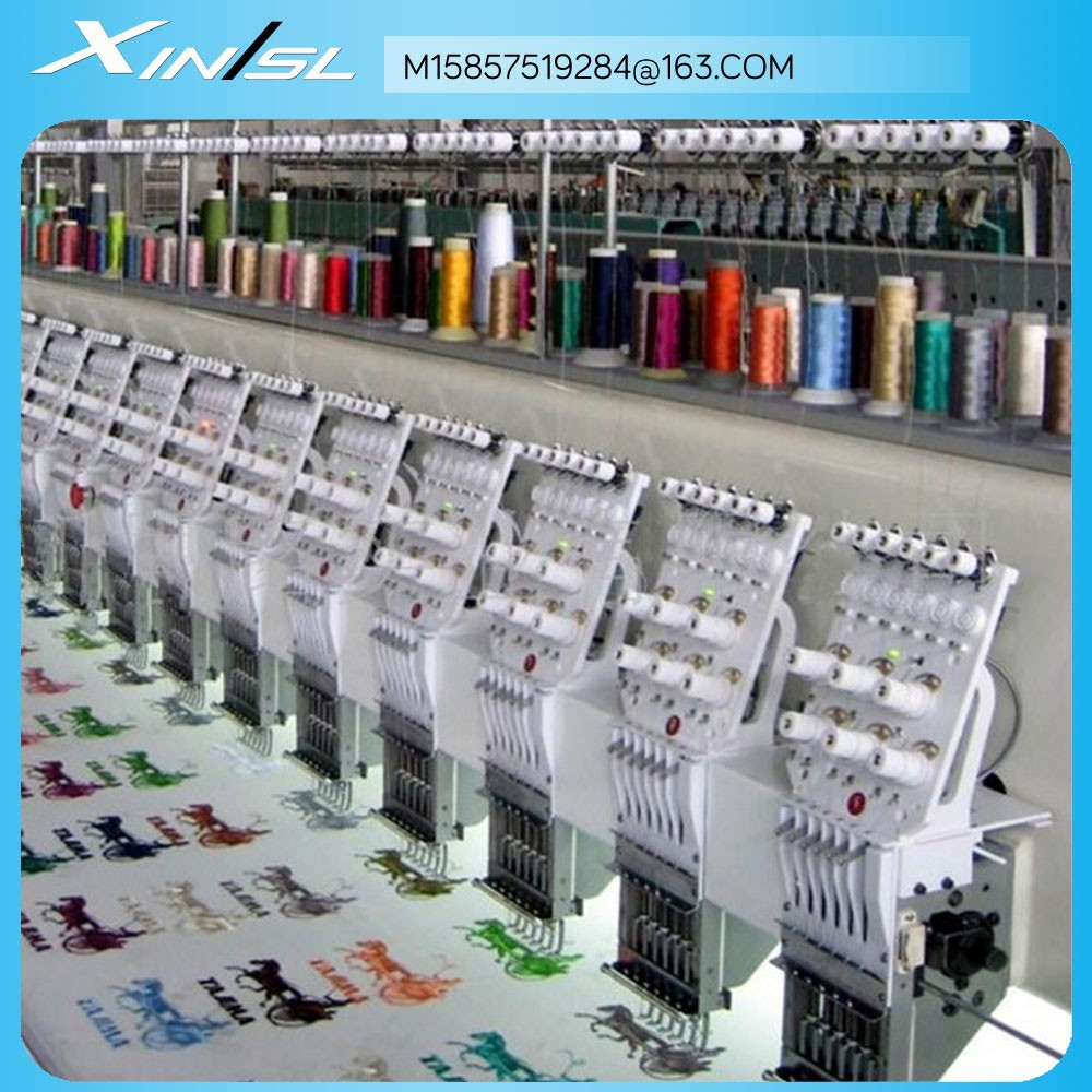 6 needle 25 head as tajima embroidery machine
