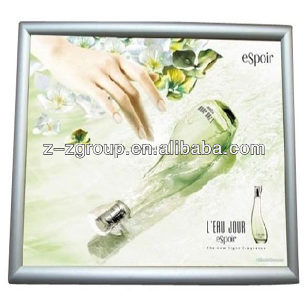 Competitive Price 6cm Aluminum profile for poster frame for slim light box