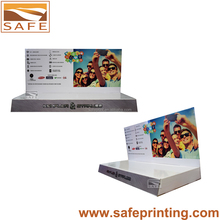 customized counter merchandise paper display box