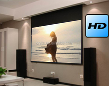 16:9 electric projector screen motorized projection screen