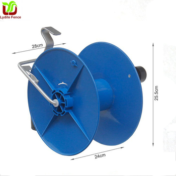 China Electric Fence Reel kite twine wire rope portable plastic reel