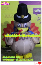 Hot event walking inflatable turkey/inflatable turkey costume/inflatable turkey model HK65