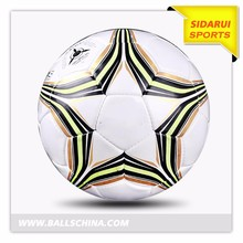 Top quality cheap football soccer ball black and white soccer balls antique leather soccer ball