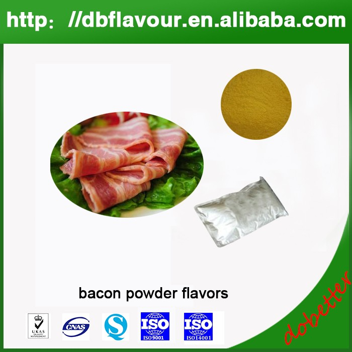 Manufactory Provide Bacon Powder Flavors for Processed Food Product, Bacon Essence Savory Flavour