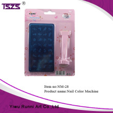Simple Home Use Nail Art Color Tools DIY Stamp Nail Printer Machine For Salon