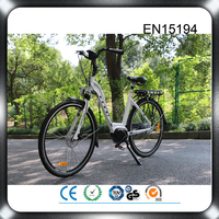 CE approval mid bafang motor green city electric bike 36v
