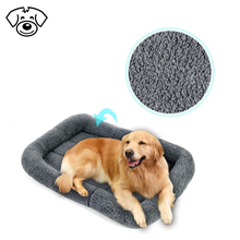 Pet folding cushion with summer mat for dog travel comfortable single bed
