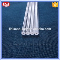 Square shape borosilicate glass rod