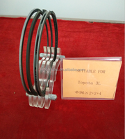 OEM auto engine parts Piston Ring for TOYOTA 3L