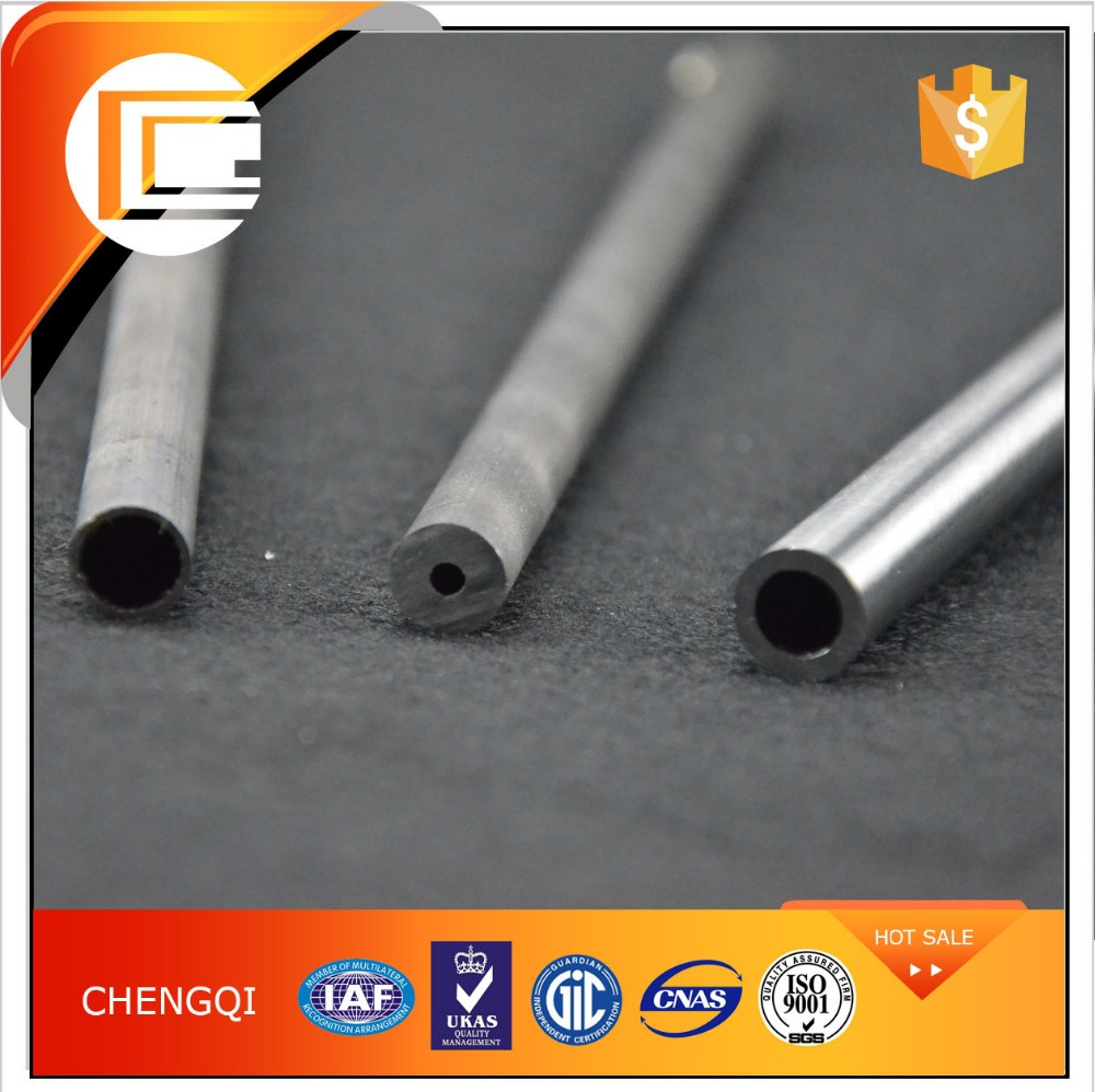 DIN St52 Capillary Seamless Chrome Alloy Steel Seamless Tubes for Liquid Transporting