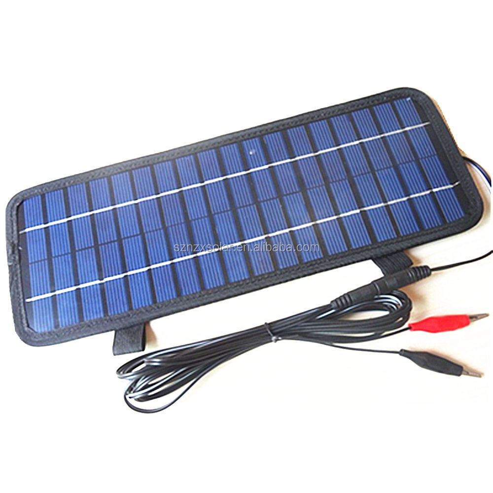 New 12 Volt 4.5W Powerful Convenient Car Boat Solar Panel Battery Charger 12V