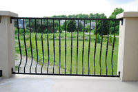 wrought iron fence fittings with good quality