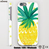 Mobile case manufacturer wholesale and custom stylish cute mobile case for iphone 6 pineapple