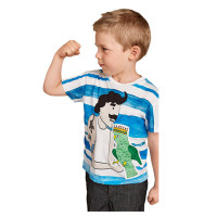 2016 Hot Selling Boys T-Shirt With Fashion Cartoon Printed Children Tee Fancy Boys Clothes BT90315-11L