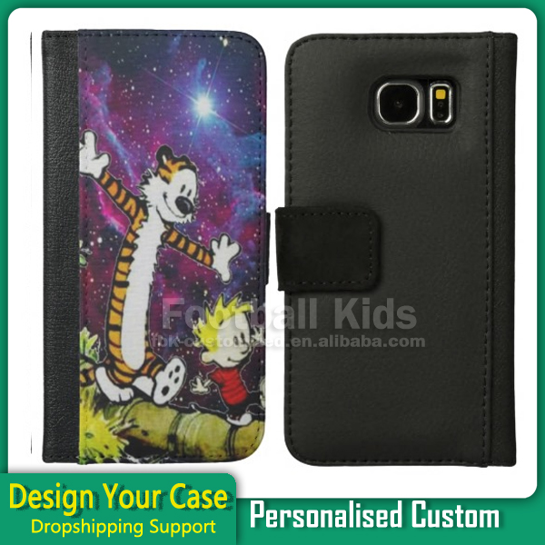 Sublimation Leather Phone Case for Samsung Note 2 3 4 With Different Designs