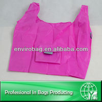 Portable Waterproof Foldable Polyester Shopping Tote Bag