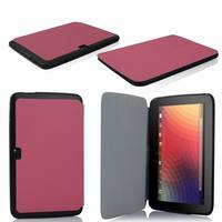 10 inch Tablet Cases PU Leather Case for Google Nexus 10 Tablet