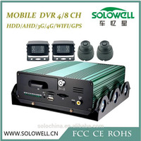 4ch Shakeproof HDD storage mobile dvr