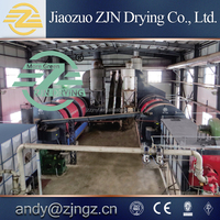Hot selling production life sludge rotary drum dryer from China factory