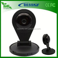 Free Shipping !!! 1/4-inch 1.0 Megapixel living ip camera built-in microphone Support Two-way voice intercom