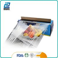 FDA approved custom made color pe cling film plastic film