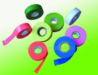 color fluorescent plastic flagging tape , Guandong factory