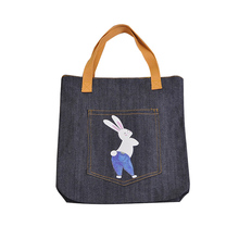 Wholesale new design ladies fashion canvas shopping bag at factory price