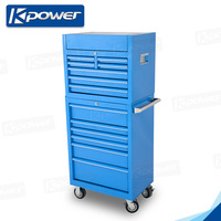 28 inch 6 drawers portable spanner tool box with wheels
