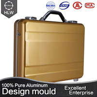 HLW metal handle custom aluminum color computer case
