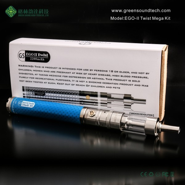 Mech Mod GS EgoII Twist Mega Kit Mech New Product Ecig Mod