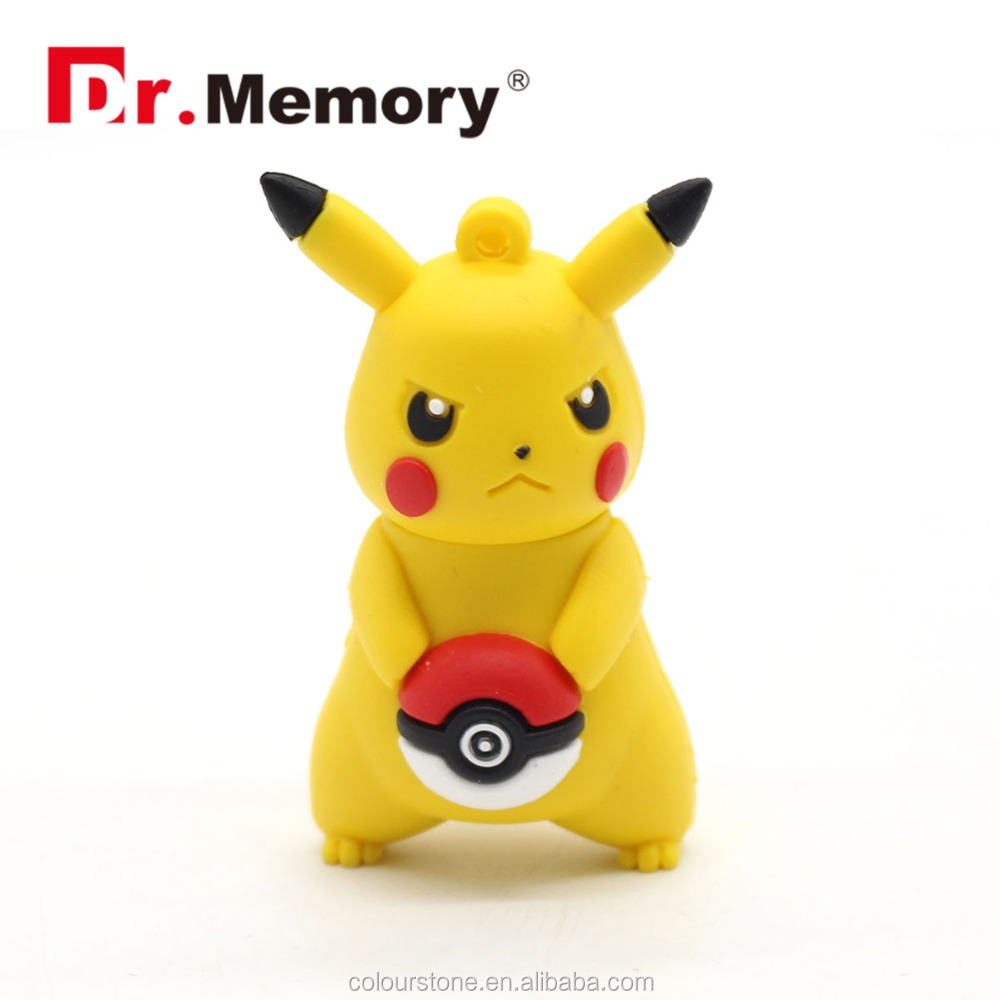 Dr.memory 8gb 16gb 32gb 64gb New Pokemon Pikachu cartoon character gift usb <strong>flash</strong> drive