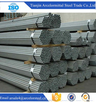 China Different Kind of Scaffold Round Galvanized Steel Pipe and Tube with Competitive Price