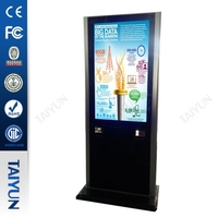 42 inch Wifi Multi Points Touch Kiosk with Dimensional code scanning