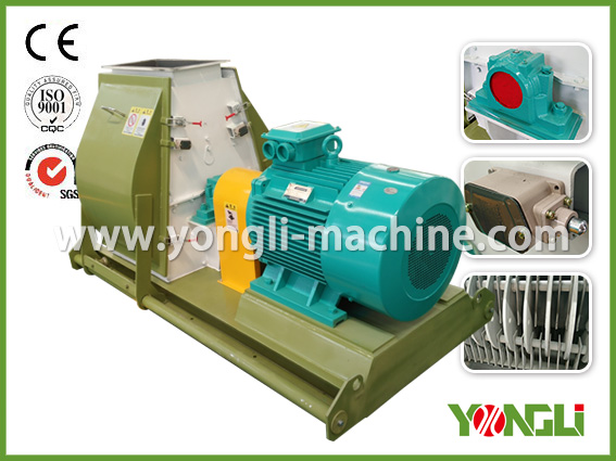 Mobile small sawdust hammer mill