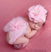 wholesale cheap halloween costume flower headbands baby angel wings