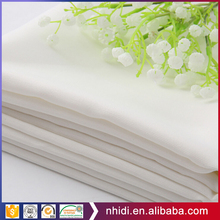 Hebei factory 95 cotton 5 spandex poplin white and dyed mercerized cotton fabric for shirts